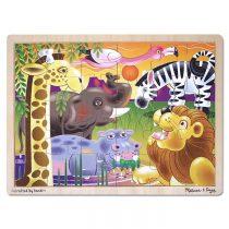 ahsap24piece 拼圖野生動物園