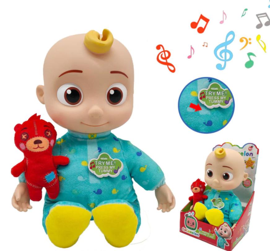 Cocomelon Gerçek Müzikli Oyuncak Bebeği