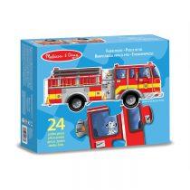 skládačka devyer-fire truck24piece