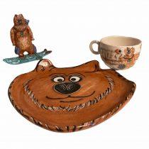 grizzy-ve-lemmingler-seramik-cocuk-kahvalti-seti-1