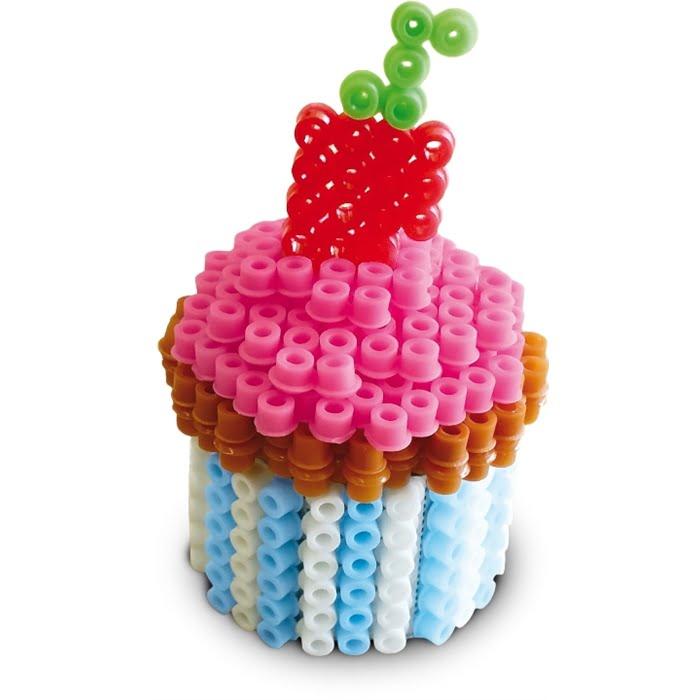 SES Creative – Beedz- Ütü Boncuk Seti – 3 Boyutlu Pastalar