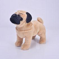 Komik-33cm-sim-lasyon-ger-ek-i-ayakta-Pug-k-pek-pelu-oyuncaklar-yumu-ak