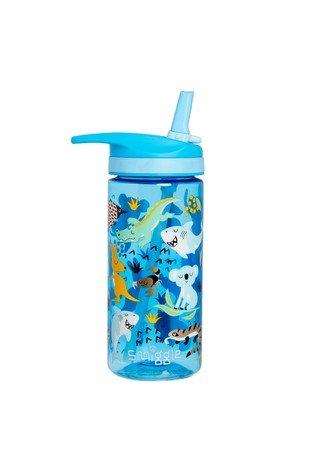 Smiggle – Mavi Deniz Hayvanları Desenli Suluk