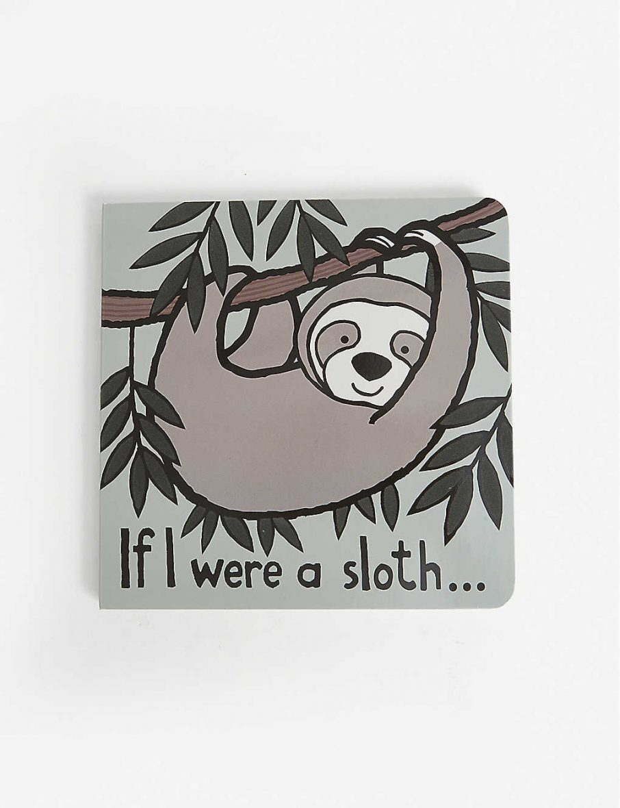Jellycat – If I Were A Sloth hard-back book