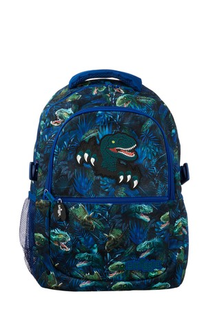Smiggle –  Mavi Dinozorlar Sırt Çantası